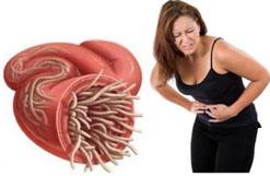 глисты симптомы болит живот